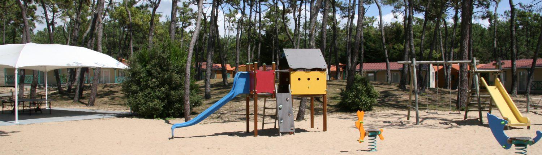 Aire de jeu pour enfants Atlantique Vacances Vendée