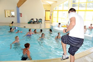 Aquagym au village vacances