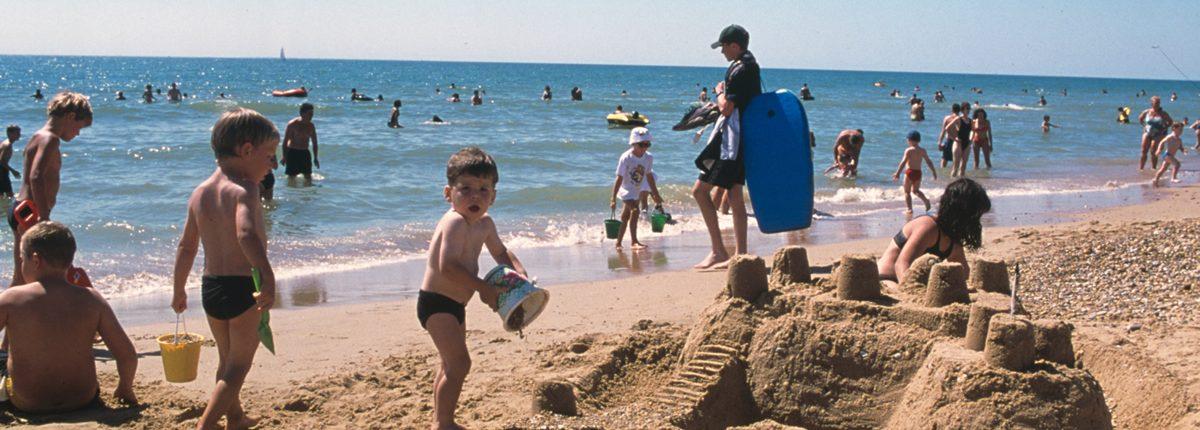 Plage de sable fin proche Village Vacances Vendée