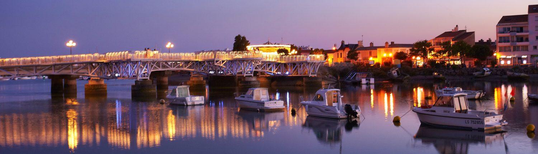 Vieux port St Giles Croix de Vie proche Atlantique Vacances Vendée